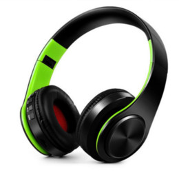 Wholesale Earphone Bluetooth For Pc - Wireless earphone Bluetooth Headset Wireless Headphones Earphone support SD card with mic for laptop smartphone PC MP3 Player