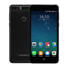 Wholesale power bars - LEAGOO KIICAA POWER Android 7.0 Dual Camera Mobile Phone 5.0 Inch MT6580A Quad Core 2GB RAM 16GB Fingerprint Smartphone