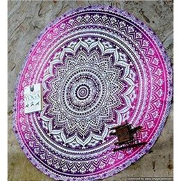 Wholesale Children Bedspreads - New Summer Indian Mandala Bedspread Tapestry Shawl Wall Hanging Bohemian Ethnic Throw Beauty Wall Decor Beach Towel Big Bed Cover Yoga Mat