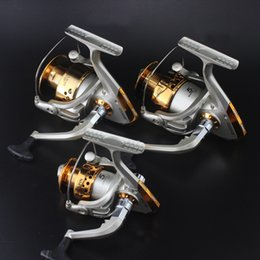 Wholesale Wholesale Aluminum Boats - 2017 NEW10BB Speed Ratio 5.5:1 Metal Spinning Fishing Reel EF1000-6000 Ocean Sea Boat Ice Fishing tackle Aluminum FISHING REEL