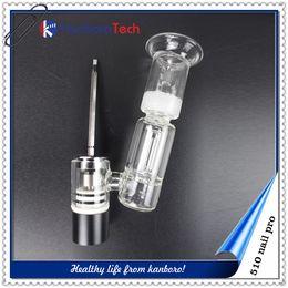 Wholesale Pro Portable Box - standard 510 thread electrode 510 nail pro kits Kanboro 510 nails customized OEM wax vaporizer portable design vapor with box mod ..