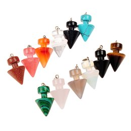 Wholesale Points For Arrows - Neolithic Style Finest Quality Crystal Quartz Arrow Points Pendant Charm Mix Random Gemstone Rock Natural Earthy Mineral Perfect for Chakara