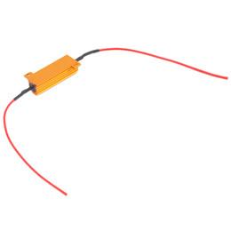 Wholesale professional flash lights - Auto Car Vehicle 4Pcs Professional 50W Load Resistor 6ohm Fix LED Bulb Fast Hyper Flash Turn Signal Light Bulb