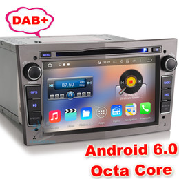 """Wholesale Dab Antenna - HD 7"""" Octa-Core Car DVD GPS Navigation Android 6.0 for Opel Valxhall Holden Antara Astra Combo Corsa DAB+ Car Radio WIFI 3G OBD DVR DTV-IN"""