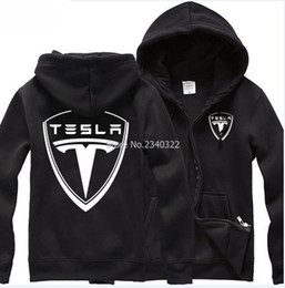 Wholesale Country Standards - Wholesale- Spring Winter and Autumn Tesla zipper fleece sweatshirt jacket for men and women cross country uniforms