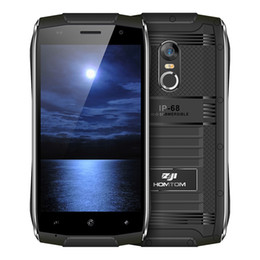 Wholesale android waterproof indonesia - HOMTOM ZOJI Z6 Original 4.7 inch IP68 Waterproof Smartphone Android 6.0 MTK6580 Quad Core 3G 1.3GHz 1GB RAM 8GB ROM Cell Smart Phone