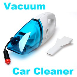 Wholesale 12v Handheld Vacuum Cleaners - Wholesale-Hot sale High quality 12V Portable Handheld Car Vacuum Cleaner Wet & Dry Outdoor Mini Car Van Truck Boat RV car styling