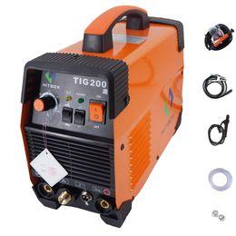 Wholesale Saving Gas - welding machine TIG 200 AMP IGBT TIG MMA welder 220v save 50% energy DC Inverter welding machine