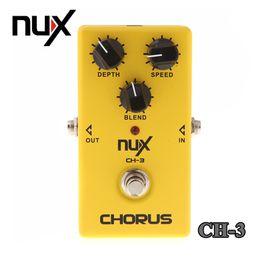 Wholesale Guitar Chorus - NUX CH-3 Electric Guitar Effect Pedal Chorus Low Noise BBD True Bypass High Quality Guitarra Effect Pedal