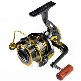 Wholesale Reels Wheels - Top Grade 1000-7000 Spinning Fishing Reels Bearings Front Drag Spinning Reel Pre Loading Spinning Fishing Wheel