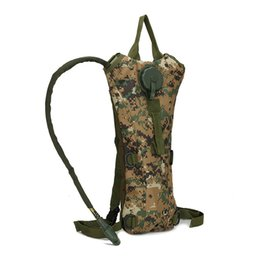 Wholesale Survival Water Bags - Outdoor Hydration Pack 3L (100 ounce) Water Bag Pouch Survival Hunting Climbing Running and Hiking Backpack with Free Tracking Number