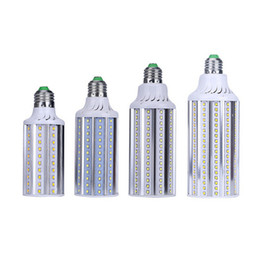 Wholesale E27 Globe Lamp - Super Bright E27 E26 E39 E40 LED Corn Bulbs Lamp SMD 2835 30W 40W 50W 70W Aluminum LED Bulbs Garden Lamp Lights AC 85V-265V CE ROHS UL