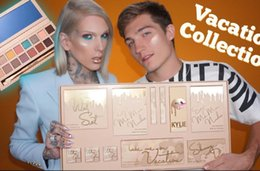 Wholesale Wholesale Halloween Makeup - New Kylie Vacation Edition Bundle Makeup set take me on vacation,Send me more Nude,Shinny Dip,Ultra glow,the wet set,June bug,Gloss DHL