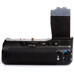 Wholesale Battery Grip T4i - Mamen KM-550D Battery Grip for Canon 550D 600D 700D T5i T4i T3i T2i BG-E8