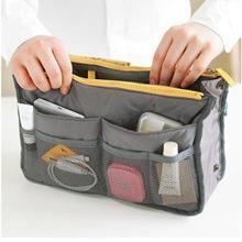 Cubos de embalaje online-Nylon Packing Cube Travel Bag System Bolsas Durables Unisex Misceláneas Sorting Organize Bag Doble Cremallera Bolsas de Papelería