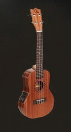 "Wholesale Left Handed Musical Instruments - Free shipping Hot Sale Mini Ukulele Concert Electric Ukulele 23"" Hawaii Ukelele Guitar Musical Instruments"