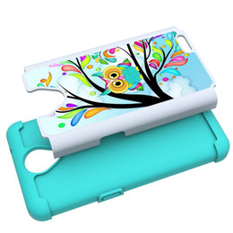 Wholesale Silicone Case Waves - Painting Luxurious wave Cases For ZTE prestige 2 N9136 2 in 1 Silicone+ PC +TPU Dirt-resistant Shockproof Cell Phone Case