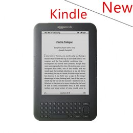 Wholesale E Books Readers Kindle - Wholesale- New condition kindle 3 e-ink ebook reader keyboard ink screen 4GB e book with mp3 ereader books have kobo in stock without box