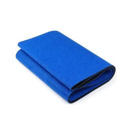 Blaue taille, die gürtel abnimmt online-Großhandels- MYPF heißer blauer fetter Cellulite-Brenner, der Übung Taille Schweiß-Gurt-Körper-Verpackungs-Sauna abnimmt