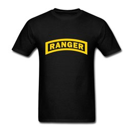 Wholesale Ranger Crew - Us Army Ranger Cool new High Quality 100% Cotton men's T Shirt cheap sell Free shipping