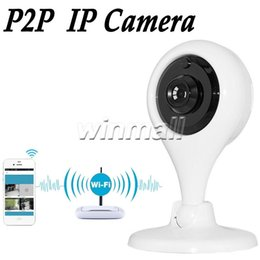 Wholesale Pinhole Camera Sd - Smart Home Camera 720P HD Wireless Wifi IP Camera Baby Monitor Alert Motion Detection Two Way Voice Micro SD card Play Back