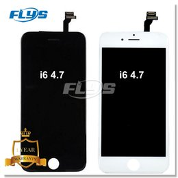 Wholesale Complete Iphone Screen - For NEW Grade AAA+++ LCD Display Touch Digitizer Complete Screen with Frame Full Assembly Replacement with 3D Touch For iPhone 6 Free DHL