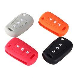 Wholesale Kia Ix35 - Key Case 3 Button Cover Silicone Skin Fob For Hyundai I30 IX35 Kia K2 K5 HYUNDAI Folding Remote Key Case