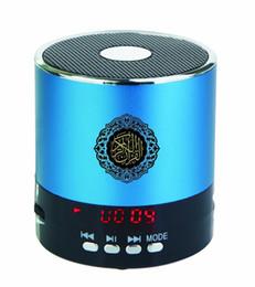 Wholesale Wholesale Islamic Koran - Wholesale-Mini Quran Speaker Player Tilawat For Muslims Islamic Gift lound Koran Speaker free shipping 3PCS LOT