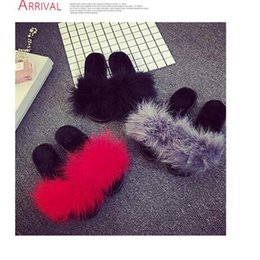 Wholesale Slip Girls Slipper Shoe - Fashion Come With Original Box Dust Bag Leadcat Fenty Rihanna Shoes Women Slippers Indoor Sandals Girls Fashion Scuffs Black Red Grey