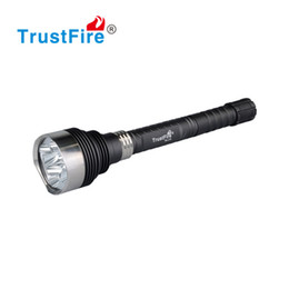 Wholesale Head Flashlight Dive - LED Lamp Super Bright High Power LED Flashlight Stainless Steel Head Torchlight 18650 Rechargeable Battery Flash Light Camping Hunting Torch