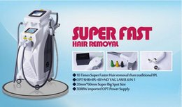 Wholesale Laser Circle - 2017 Best quality IPL+RF+ND yag laser IPL SHR hair removal skin rejuvenation tattoo removal beauty spa and salon