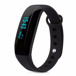 Wholesale v2 android - Wholesale- Original CUBOT V2 Smart Wristband All-weather Heart Rate Monitor Real-time Sport Trail Intelligent Reminder band for iOS android