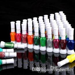 Wholesale Nail Art Pen Striper Set - china brand glaze colorful Nail Art Striper Pen 36pcs lot 2-Way Nail Art Glitter canetinhas coloridas Nail Polish Brush Set