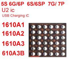 2019 iphone innere klammern gesetzt 5 teile / los Original Neue U2 IC USB Lade iC-chip 1610A1 1610A2 1610A3 610A3B 1612A1 Für iPhone 5 S 6/6 P 6 S / 6 SP 7/7 P 8G / 8 P / X