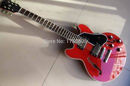 Wholesale Es Semi Hollow - Wholesale- Wholesale ES 339 Electric Guitar Semi Hollow JAZZ 339 In Red 111223