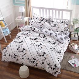 Wholesale Quilt Cover Sheet King Size - Wholesale- Cotton polyester bedding set king Paris tower comforter duvet cover set bed sheet pillowcase five size no quilt home textile