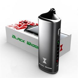 Wholesale Liquid Vaporizer Wholesale - 100% Authen Black Widow Vaporizer Kingtons 3in1 wax oil dry herb box kit herbal vaporizer e juice Liquid vapor mods vape pen e cig cigarette