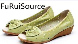 Wholesale Comfortable Wedges Sandal - With female sandals wedge soft bottom breathable comfortable spring and summer FuRuiSource