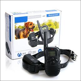 Elektronische borken online-Hohe qualität 300 mt Pet Training Liefert Fernbedienung Elektronische Hundehalsband Pet Stop Barking Gerät Eins zu Einem bark abschreckungsmittel