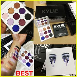 Wholesale Eyes Shadow Collection - Kylie Jenner Purple Palette Eyeshadow fall collections Kylie Eyeshadow the purple palette kyshadow Kylie Waterproof Eye shadow 9 colors