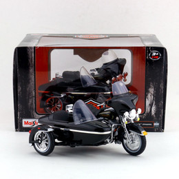Wholesale Diecast 18 - Free Shipping Maisto 1:18 Motorcycle Harley-Davidson 1998 FLHT Electra Glide Standard Diecast Toy Collection Educational Gift