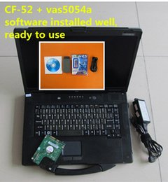 Wholesale Cf Support - 2017 vas5054a full chip support uds bluetooth vas 5054 odis 4.23 with laptop cf52 toughbook cf-52 ready to use diagnostic