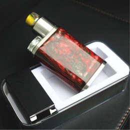 Wholesale Interface Usa - Resin box mod e cigarette electronic cigarette 510 thread interface general wholesale 2017 latest products USA DNA chip free shipping