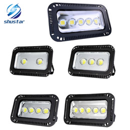 Wholesale Light Ip66 - Super Bright 200W 300W 400W 500W 600W led Floodlight Outdoor Flood lamp waterproof LED Tunnel flood light lamps AC 85-265V