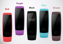 Wholesale Oximeter Ratings - New QS80 heart rate oximeter pedometer waterproof health bracelet smart bracelet watch For iPhone Samsung for DHL free shipping