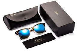 Wholesale Vintage Car Glass - brand 2017 vintage sunglasses women new arrival car 51mm plank frame sun glasses men sun glasses brand designer oculos glasses men