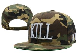 Wholesale Kill Snapback - Hot Kill Brand Blazed Snapback Killer Caps & Hats Snapbacks Snap Back Hat Men Women Baseball Cap Cheap Sale