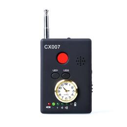 Телефонные детекторы онлайн-CX007 полный спектр частотный детектор многофункциональный сигнал камеры телефон Искатель GSM GPS WiFi ошибка RF детектор