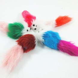 Wholesale Plush Products Stuffed Animal - Manufacturers wholesale cat products Pet cat toys stuffed mouse tease cats mice