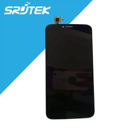 Wholesale Alcatel Hero - Wholesale-For Alcatel One Touch Hero OT8020 8020 8020D LCD Display Touch Screen Digitizer 6.0 inch 1920*1080 HD Black Replacement